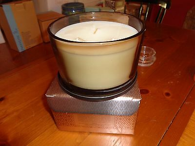 Partylite Signature Collection Perfumed Candle 3 wick  Ambience RETIRED