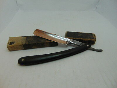 H. BOKER & Co's Tree Logo King Cutter Straight Razor With Case