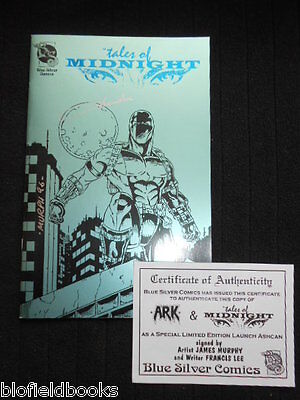 SIGNED: Francis Lee - Ark/Tales of Midnight, Ltd 2500 1996-1st Green Cover