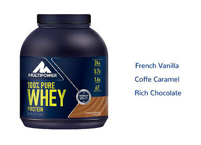 Multipower 100% Pure Whey Protein 2000 g. gusto Cacao