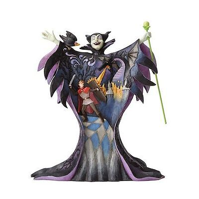 Disney Traditions 4055439 Maleficent With Scene New & Boxed