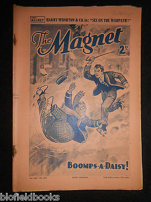 The Magnet; Billy Bunter's Own Paper - WWII Era Boy's Comic - January 27th 1940
