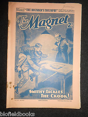 The Magnet; Billy Bunter's Own Paper - WWII Era Boy's Comic - March 23rd 1940