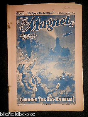 The Magnet; Billy Bunter's Own Paper - WWII Era Boy's Comic - May 4th 1940, 1681