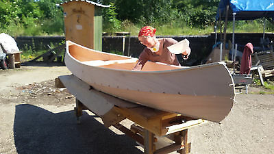 Canoe Building Holiday for families or groups