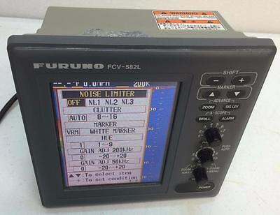 Furuno FCV-582L Color Sounder FishFinder Display