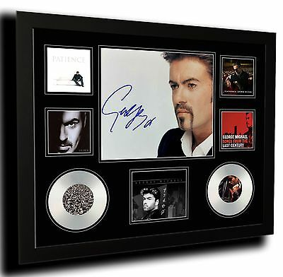 George Michael Signed Limited Edition Framed Memorabilia