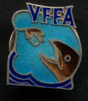 Victorian Fly Fishing Association Sterling Silver Badge 1947-48