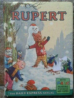 Rupert 1962 Daily Express Annual Hardcover by Bestall