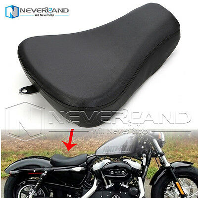 Front Driver Solo Seat Cushion For Harley Sportster Iron XL 1200 883 72 48 07-15