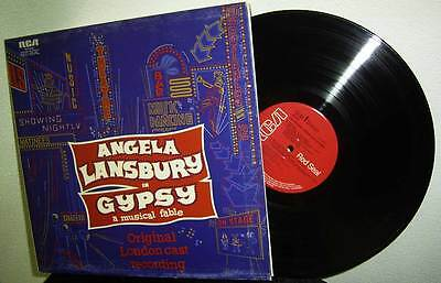 Lp Gypsy - A Musical Fable - Angela Lansbury * Original London Cast Rca 1973 Uk