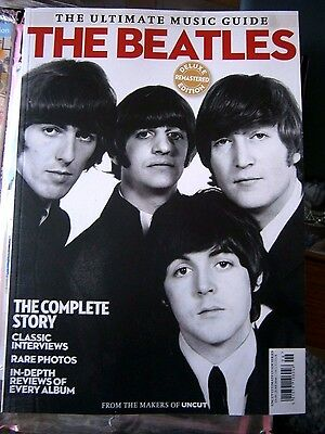 The Beatles -  Uncut Ultimate Music Guide  Deluxe Remastered Edition  (new) 2016
