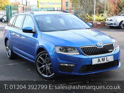 2013 63 SKODA OCTAVIA Estate 2.0 TSi VRS 220ps DSG 5dr