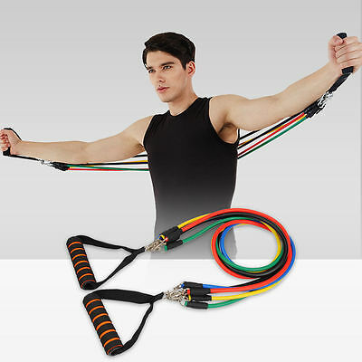 Men Women Resistance bands Kit Best Heavy Workout for Legs and Knee Exercises