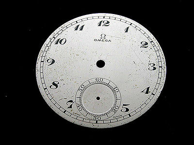 Omega #3, Original Metal Dial For Watches,1930'S