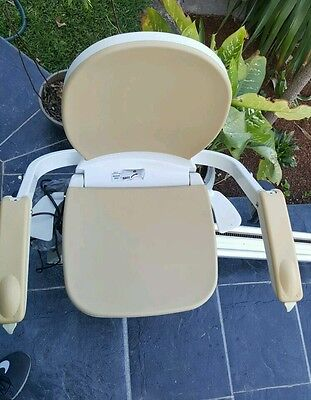 Outdoor/Indoor Straight  Stairlift **Acorn Superglide 130**TWO CHAIRS AND RAIL