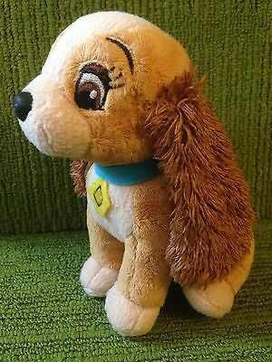 "Disney Lady And The Tramp - 6"" Lady Plush Soft Toy - - Buena Vista - Lovely Cond"