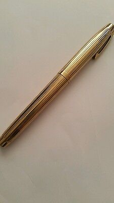 Vintage Gold Electroplated Sheaffer 14K Fountain  Pen-Gold