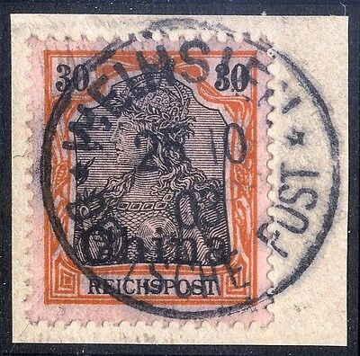 Dt. Post China Mi. 20 Kab. Bfst. WEIHSIEN