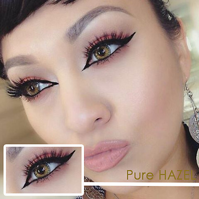 PURE HAZEL Coloured Contact Lenses Kontaktlinsen color lens color HASEL