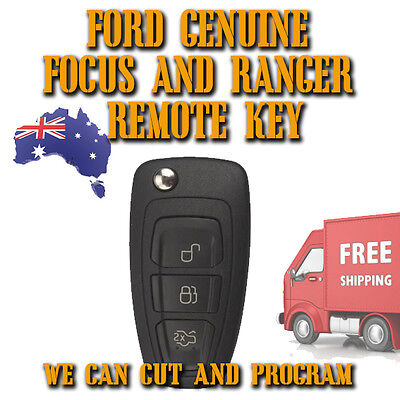 GENUINE Ford Focus + Ranger Remote Key 2011 To 2015 - Brand New - Free Postage