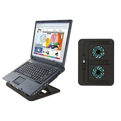 Nr.2x SUPPORTO NOTEBOOK CYCLONE COOLING STAND TRUST ´