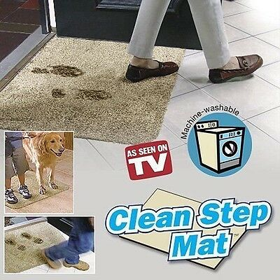 Clean Step Mat- Brown Beige- FREE SHIPPING
