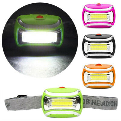 2000 Lumens COB Outdoor LED Head Lamp Torch 5W Headlight Bright Adjustable Angle