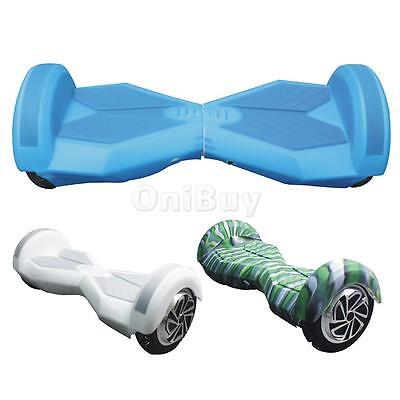 8'' Silicone Coque Protection Couverture Complete Anti-dérapant pour Scooter
