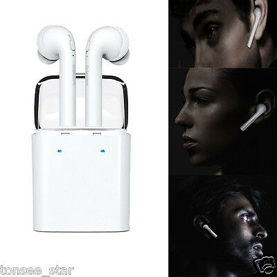 Wireless Bluetooth In-ear Kopfhörer Stereo Headset for iphone 7 Airpods Android