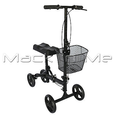 Knee Walker Scooter - Mobility Alternative Crutches Wheelchair Walking Aid Equip