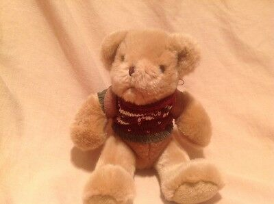 """Collectable teddy bear """"Henry the Hiker"""" with his rucksack"""