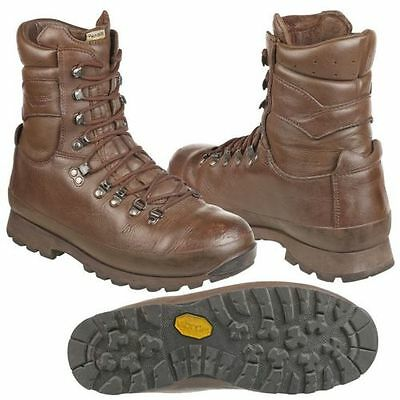 Altberg brown high liability British Army issue Brown Boots  - Must See