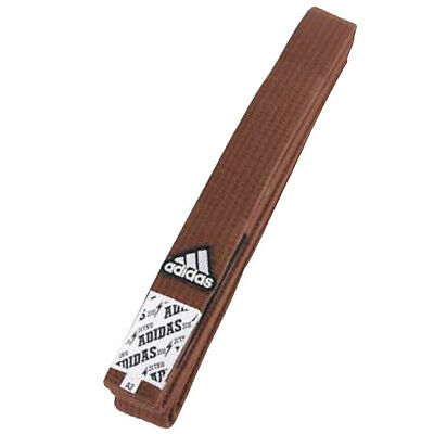 Adidas Elite Jiu-Jitsu Rank Belt - Brown