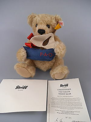 Steiff Teddy Christopher - FAO Sailor Bear 681783 - limitierte US Edition (18)