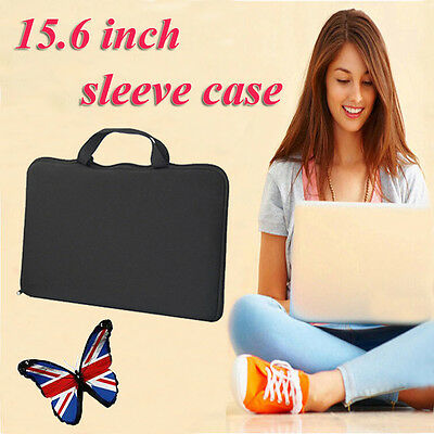 """15.6"""" Laptop Sleeve Bag Case Cover For Apple HP DELL Toshiba ASUS Sony Acer MAC"""