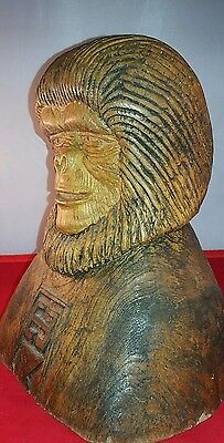 Vintage planet of the apes carving 1970s