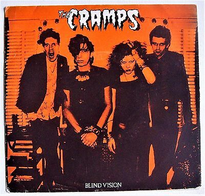 The Cramps - Blind Vision E.P. - Limited Edition Demos Bootleg (VG+/VG+)