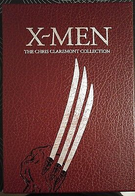 Marvel Limited X Men Claremont Collection Hardcover Leather Slipcase Near Mint