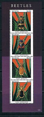Bloc Sheet  Insectes Insects  MNH  Neuf  ** Nevis  2012