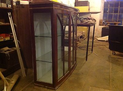 wood display cabinet for Renovation