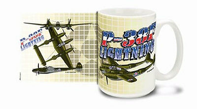 B-17 Flying Fortress - Glory Days -15 oz Full Color Coffee Mug - Made in the USA