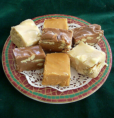 TOFFEE CRUNCH  FUDGE ~ A Totally Terrific Tasting Treat! ~ 1  lb. Gift Boxed
