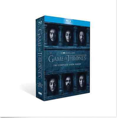 Blu-Ray GAME OF THRONES The Complete Sixth Season 6 BLU-RAY SEALED (Bilingual)