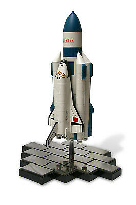 "13"" Metal Model Of ""energia-Buran"" - The Soviet Space Shuttle (Scale 1:200)"
