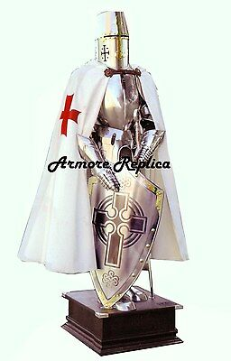 Medieval Suit Of Armor-15 Century-Full Body Armor With Stand-Premium Quality