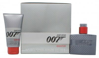 James Bond 007 Quantum Gift Set 30Ml Edt Spray + 50Ml Shower Gel - Men's. New