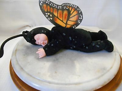 Anne Geddes Baby Butterflies Monarch Butterfly Doll