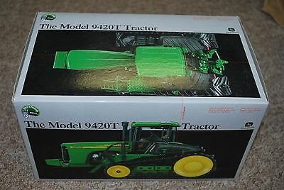 1/32 Precision John Deere 9420T tracked tractor by Ertl, new in box great shape