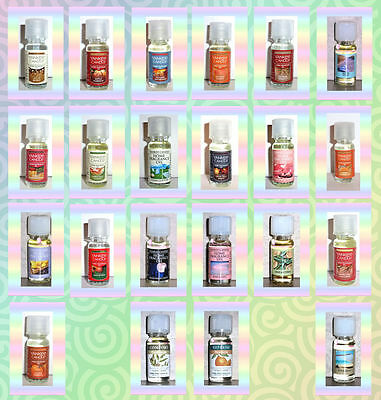 Yankee Candle Home Fragrance Oils Aromatherapy Oils & Holiday Oils  YOU CHOOSE
